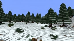 North Shore Tree and Ice pack Minecraft Map & Project
