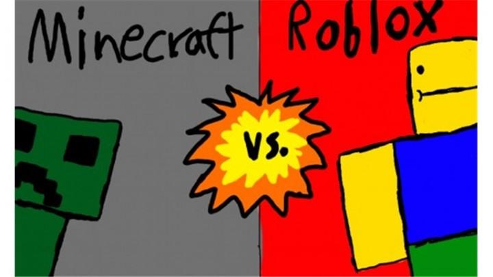 Minecraft Vs. Roblox Minecraft Texture Pack