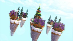 Map of Christmas skywars Minecraft Map & Project