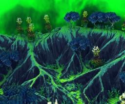 Alien Terrain Minecraft Map & Project