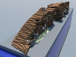 SS Deutsch wreck (sister ship SS Statford) Minecraft