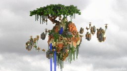 Sky Island Pvp / Parkour Map [+Download] Minecraft Map & Project