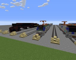 AMTRAK ACS-64 Minecraft