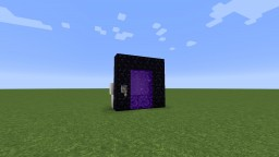 Semi Auto Nether Portal Minecraft Map & Project