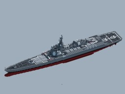 RNS New Guinea Class Nuclear Guided-Missile Cruiser Minecraft Map & Project