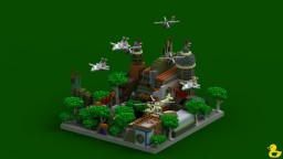 OldBase Spawn Minecraft Map & Project