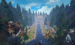 Medieval Marketplace Minecraft