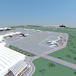 Int. Airport Minecraft Map & Project