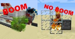 Automatic Charged Creeper Detonator Minecraft Map & Project
