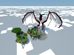 Sky Island Spawn(With Dragon) - MistahRushaman Minecraft Map & Project