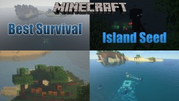 Minecraft Best Survival Island Seed and Ocean Monument Minecraft Map & Project