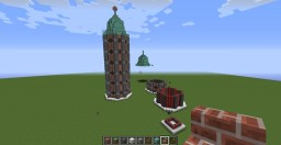 Townsy Tower -Schematic (MistahRushaman) Minecraft Map & Project