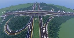 Highway 401 - Interchange Minecraft