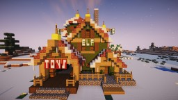 Elf Workshop Minecraft