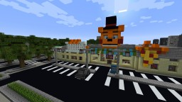 Freddy Fazbear's Pizzeria (FNaF) v. 1.0.8 Minecraft Map & Project