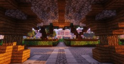 Modern/Medieval Park (Finished) Minecraft Map & Project