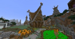 Steampunk/Medieval/Gothic House and Castle designs Minecraft Map & Project
