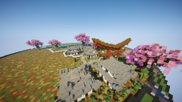 Spawn with triple style - Current style is japanese Minecraft Map & Project