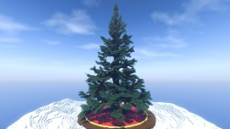 Mega Christmas Tree Undecorated Minecraft Map & Project