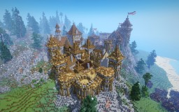 """Castle """" Auern"""" Minecraft Map & Project"""