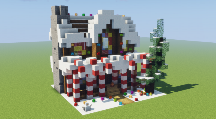 Gingerbread House Minecraft Map