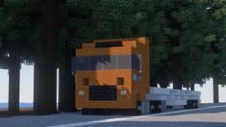 Iveco truck : Hi-Way Minecraft Map & Project