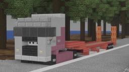 MAN truck : TGX Euro6 XXL Minecraft Map & Project