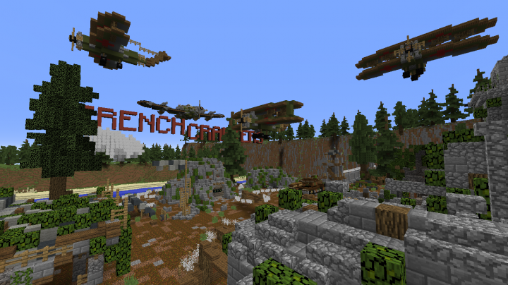 TrenchCrafters | World War 2 Minecraft Server | Spawn Map ...