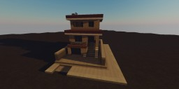Tan Brick House Thing Minecraft Map & Project