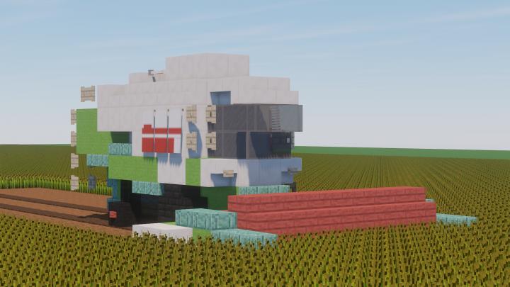 "Popular Server Project : Combine harvester Claas ""Lexion 480"""