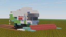"Combine harvester Claas ""Lexion 480"" Minecraft Map & Project"