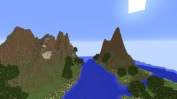 Islands With River Minecraft Map & Project