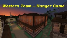 WesternTown - Hunger Game Minecraft Map & Project