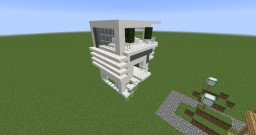 Modern villas with garden Minecraft Map & Project