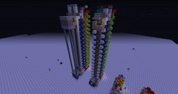 2 FLOOR UP&DOWN INSTANT CALL ELEVATOR Minecraft Map & Project