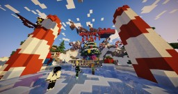 Christmas Lobby  |  @SrJuanDrAw Minecraft Map & Project