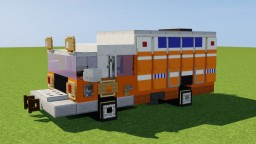 Fire-Rescue Truck Minecraft
