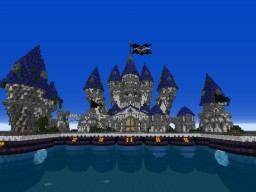 Overwater Castle ! ^^ [2 weeks build][Germa66] Minecraft Map & Project