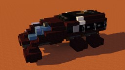 Mars Rover Vehicle Navigator Minecraft Map & Project