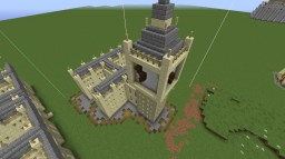 England: Town center Minecraft Map & Project