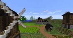 Fall of Darkness - An Epic Medieval Adventure Minecraft Map & Project