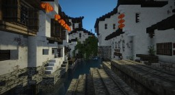 Chinese Traditional water village Minecraft