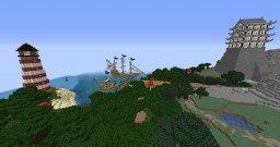 Town of Harbor View Minecraft Map & Project