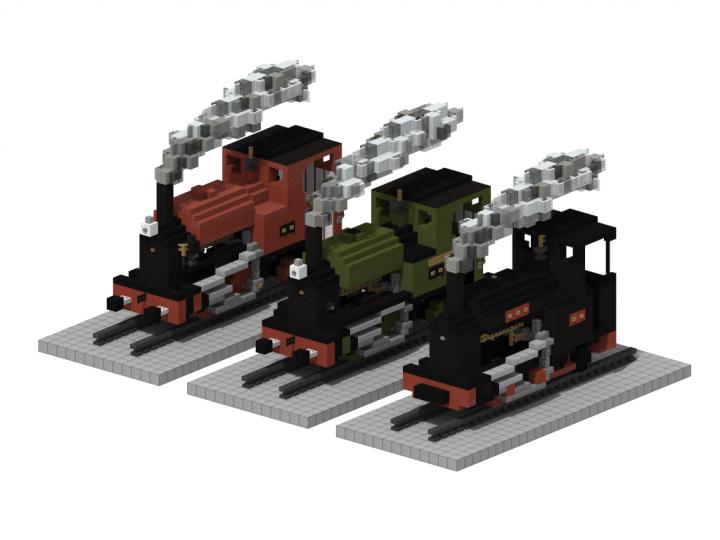 Popular Project : Kerr Stuart 0-4-2ST 'tattoo' class | 5:1 steam locomotive