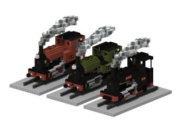 Kerr Stuart 0-4-2ST 'tattoo' class | 5:1 steam locomotive Minecraft