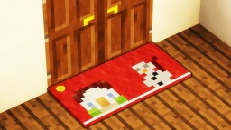 Minecraft - How To Make A Christmas Doormat Minecraft Map & Project
