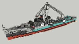 British Destroyer HMS Onslow 1:1 Minecraft