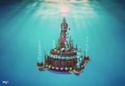 Underwater Tower Minecraft Map & Project