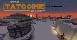 Tatooine - Star Wars - (by StreamingED) Minecraft Map & Project
