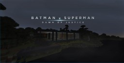 Batman v superman Wayne Residence Minecraft Map & Project